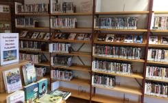 Foto dvdrek bibliotheek Ravels